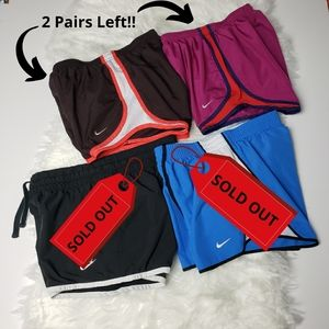 Nike Women's Dri Fit Shorts 2 Pairs
